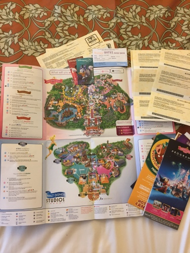 disneyland paris park maps and tickets